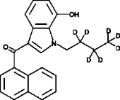 JWH 073 7-<wbr/>hydroxyindole metabolite-<wbr/>d<sub>7</sub>