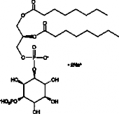 PtdIns-<wbr/>(3)-<wbr/>P<sub>1</sub> (1,2-<wbr/>dioctanoyl) (sodium salt)