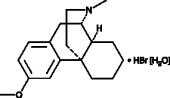 Dextro<wbr/>methorphan (hydrobromide hydrate)