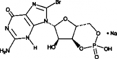 8-bromo-Cyclic GMP (sodium salt)