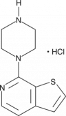 7-<wbr/>Piperazin-<wbr/>1-<wbr/>yl-<wbr/>thieno[2,3-<wbr/>c] Pyridine (hydro<wbr>chloride)