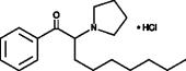 α-Pyrrolidino<wbr/>nonanophenone (hydro<wbr>chloride)