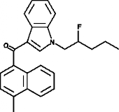 MAM2201 N-<wbr/>(2-<wbr/>fluoropentyl) isomer