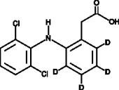 Diclofenac-d<sub>4</sub>