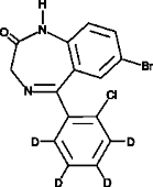 Phenazepam-d<sub>4</sub> (CRM)