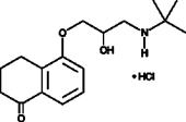 Levobunolol (hydro<wbr/>chloride)