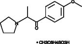 4-<wbr/>methoxy-<wbr/>?-<wbr/>Pyrrolidinopropiophenone (tosylate)