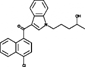 JWH 398 N-<wbr/>(4-<wbr/>hydroxypentyl) metabolite