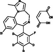 Midazolam-d<sub>4</sub> (maleate) (CRM)