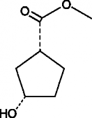 (1R,3S)-<wbr/>3-<wbr/>Hydroxycyclopentane carboxylic acid methyl ester