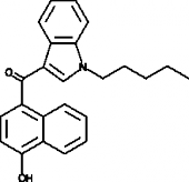 JWH 081 4-<wbr/>hydroxynaphthyl metabolite