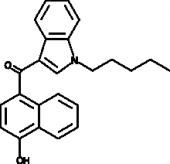 JWH 081 4-<wbr/>hydroxynaphthyl metabolite