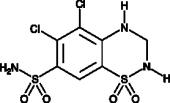 5-chloro Hydrochloro<wbr/>thiazide