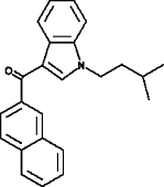 JWH 018 2'-<wbr/>naphthyl-<wbr/>N-<wbr/>(3-<wbr/>methylbutyl) isomer