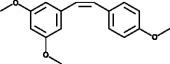<em>cis</em>-<wbr/>trismethoxy Resveratrol