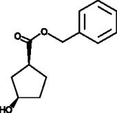 (1R,3S)-<wbr/>3-<wbr/>Hydroxycyclopentane carboxylic acid benzyl ester