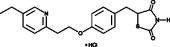 Pioglitazone (hydro<wbr/>chloride)