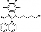 JWH 018 N-<wbr/>(5-<wbr/>hydroxypentyl) metabolite-<wbr/>d<sub>5</sub>