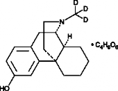 Dextrorphan-<wbr/>d<sub>3</sub> (tartrate)