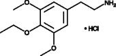 Escaline (hydro<wbr>chloride)
