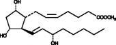 Prostaglandin F<sub>2α</sub> methyl ester