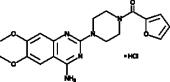 Prazosin (hydro<wbr>chloride)