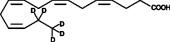 4(Z),7(Z),<wbr/>10(Z),13(Z)-<wbr/>Hexadecatetraenoic Acid-<wbr/>d<sub>5</sub>