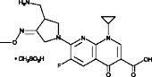 Gemifloxacin (mesylate)