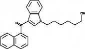 JWH 019 N-<wbr/>(6-<wbr/>hydroxyhexyl) metabolite