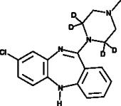 Clozapine-d<sub>4</sub>