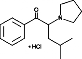 α-Pyrrolid<wbr/>inoisohexano<wbr/>phenone (hydro<wbr/>chloride)