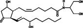 Prostaglandin D<sub>2</sub> serinol amide