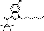 XLR11 6-<wbr/>hydroxyindole metabolite
