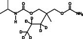 Carisoprodol-d<sub>7</sub> (propyl-d<sub>7</sub>) (CRM)
