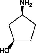 (1R,3S)-<wbr/>3-<wbr/>Amino-<wbr/>cyclopentanol