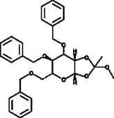 3,4,6-<wbr/>Tri-<wbr/>O-<wbr/>benzyl-<wbr/>?-<wbr/>D-<wbr/>Mannopyranose 1,2-<wbr/>(methyl orthoacetate)