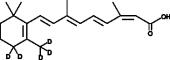 13-<em>cis</em>-<wbr/>Retinoic Acid-d<sub>5</sub>