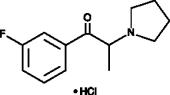 3'-fluoro-α-Pyrrolidino<wbr/>propiophenone (hydro<wbr>chloride)