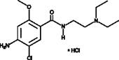 Metoclopr<wbr/>amide (hydro<wbr/>chloride)