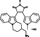 Bisindolyl<wbr/>maleimide X (hydro<wbr>chloride)