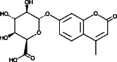 4-<wbr/>Methyl<wbr/>umbelliferyl-α-<wbr/>L-<wbr/>Iduronide (free acid)