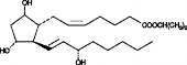 Prostaglandin F<sub>2α</sub> isopropyl ester