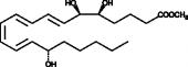 Lipoxin A<sub>4</sub> methyl ester