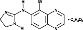 Brimonidine (tartrate)