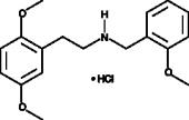 25H-<wbr/>NBOMe (hydro<wbr>chloride)