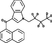 JWH 073-<wbr/>d<sub>7</sub> (exempt preparation)