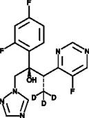 Voriconazole-d<sub>3</sub>