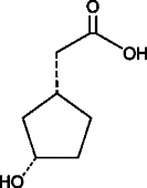 (1R,3S)-<wbr/>3-<wbr/>Hydroxycyclopentane acetic acid