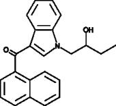 JWH 073 N-<wbr/>(2-<wbr/>hydroxybutyl) metabolite