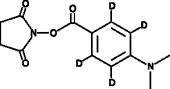 DMABA-<wbr/>d<sub>4</sub> NHS ester